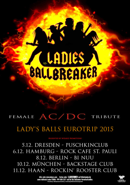 Ladies Ballbreaker Ladys Balls Eurotrip 2015 Wizard Promotions