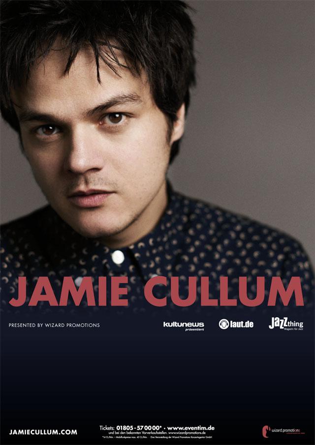 Jamie Cullum - Tour 2013 - Wizard Promotions