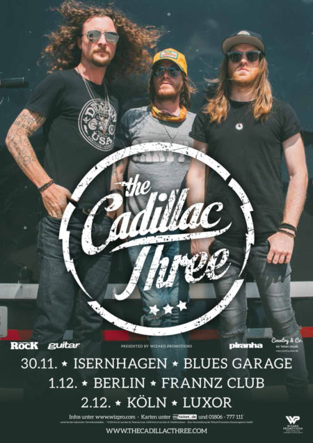 the cadillac three - live 2018 - wizard promotions